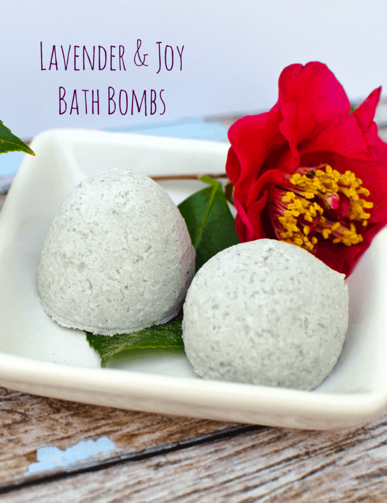Lavender and Joy Bath Bombs
