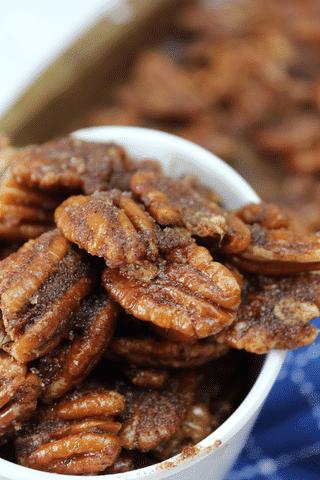 Cinnamon Pecans