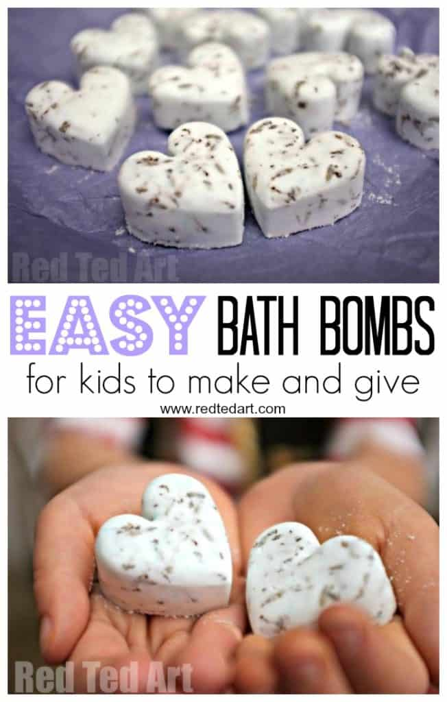 Easy Bath Bombs Kids can Make