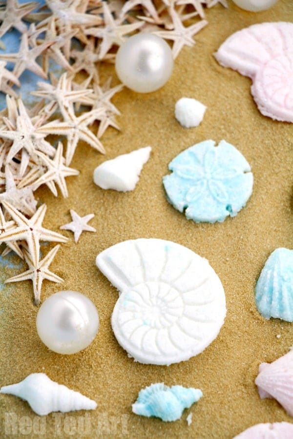Seashell Bath Bombs