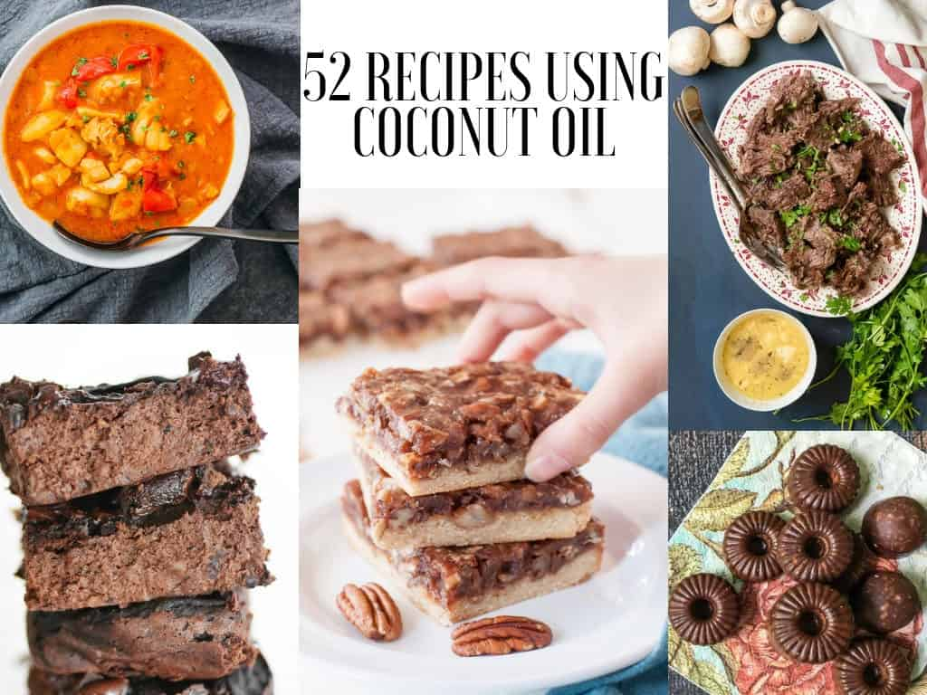 52 Recipes Using Coconut Oil