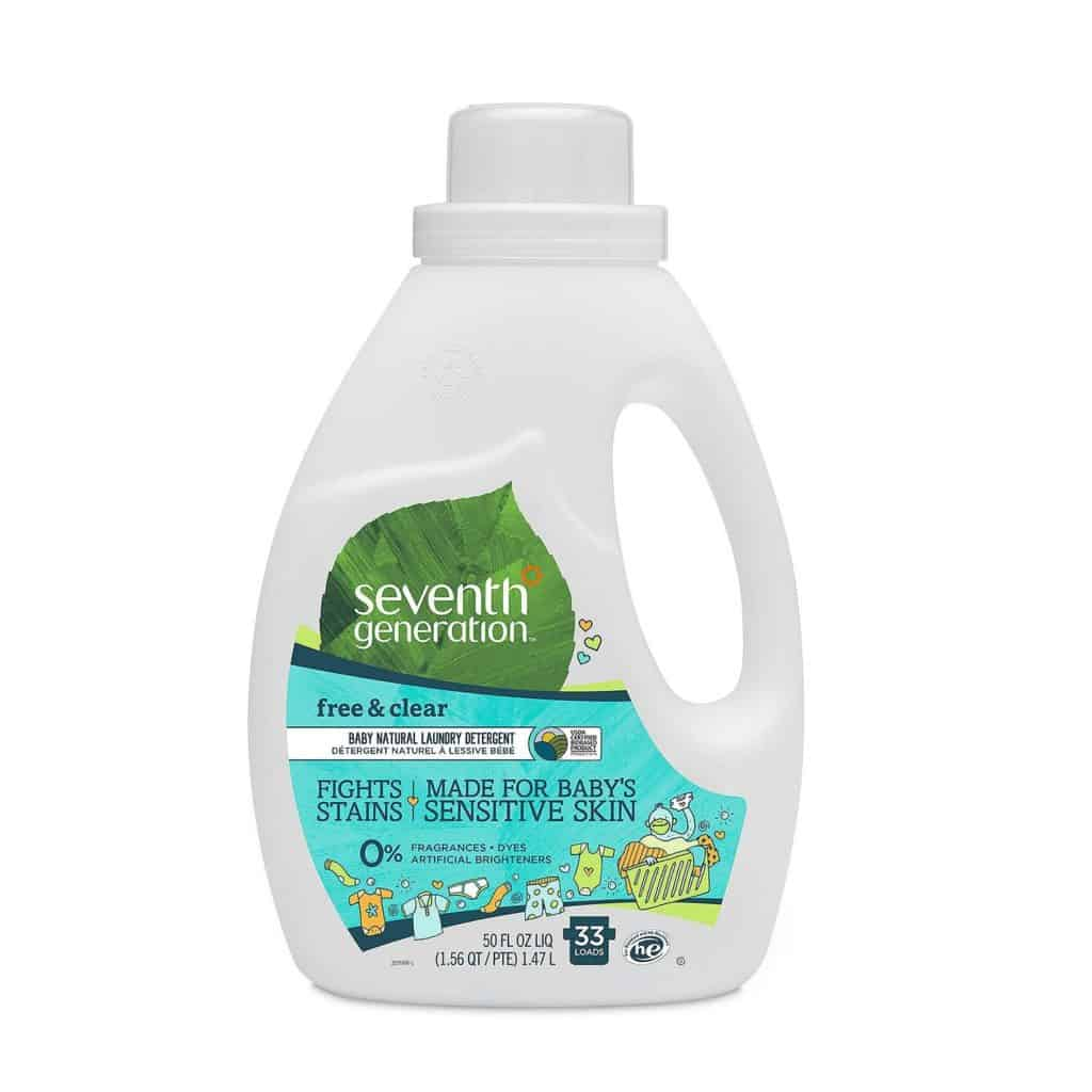 seventh generation free and clear baby laundry detergent