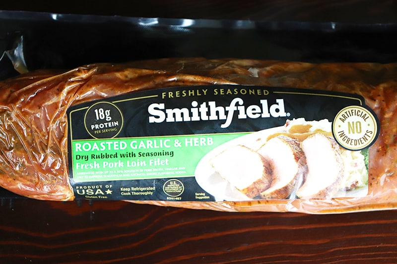 Smithfield Roasted Garlic & Herb Fresh Pork Loin Filet