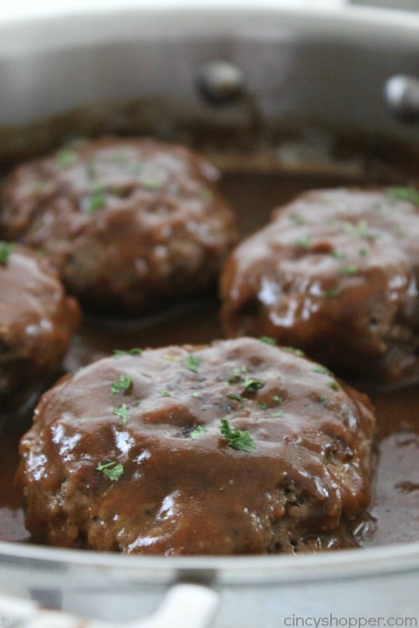 Simple Salisbury Steak | Cincy Shopper