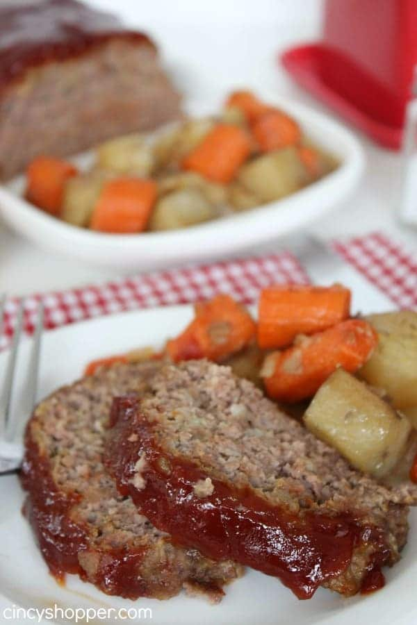 Slow Cooker Meatloaf Recipe | Cincy Shopper