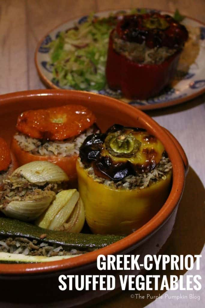 Greek Cypriot Stuffed Vegetables | The Purple Pumpkin Blog