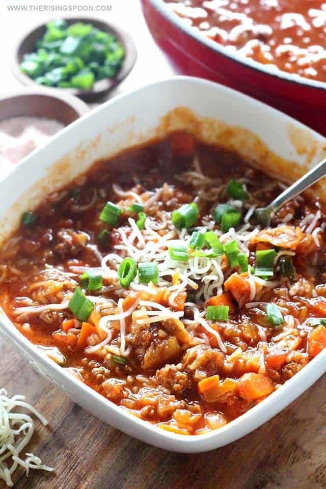 Cabbage Roll Soup | The Rising Spoon