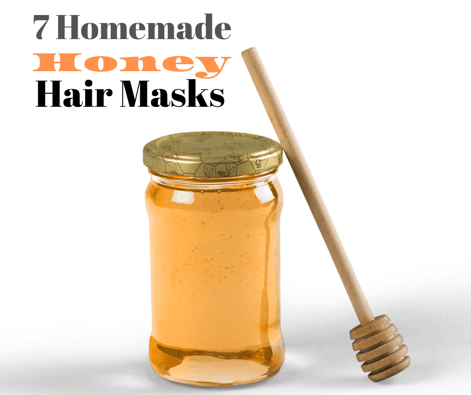 7 homemade honey hair masks