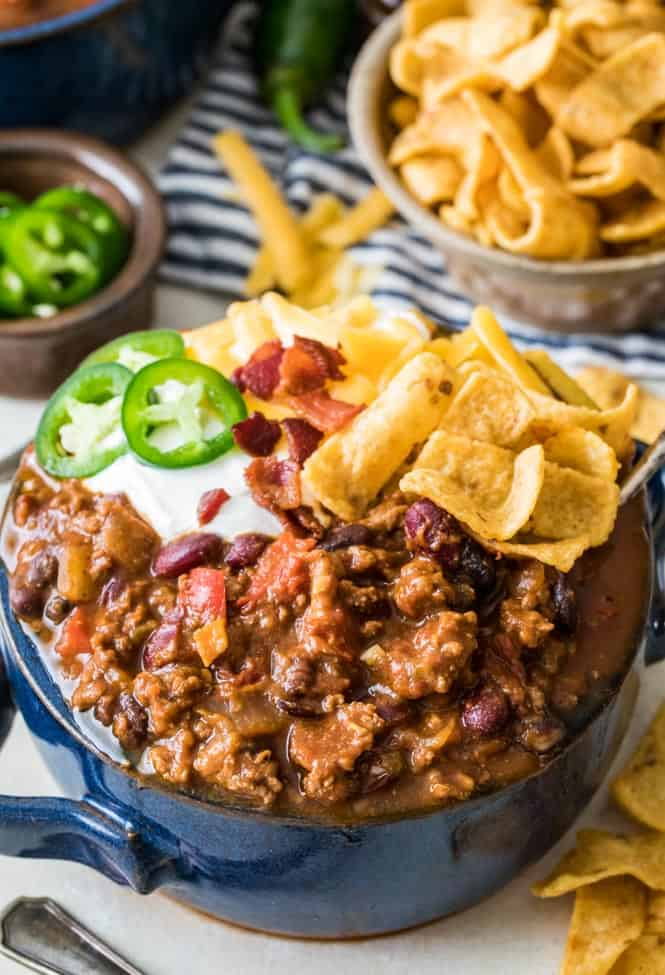 The Best Chili Recipe | Sugar Spun Run