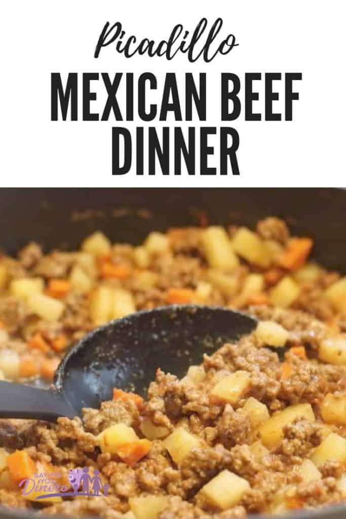 Picadillo - Mexican Beef Dinner | Saving You Dinero