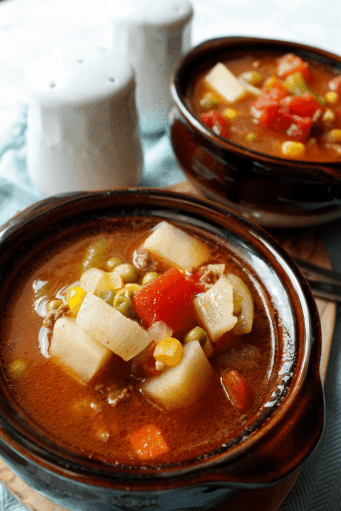 Vegetable Beef Soup | My Heavenly Recipes