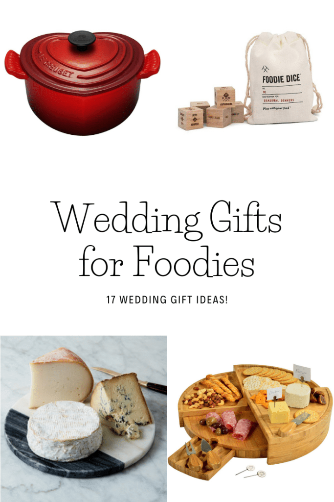 Wedding Gifts for Foodies