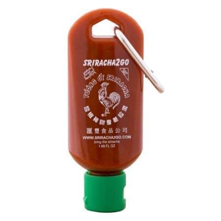 Sriracha Keychain