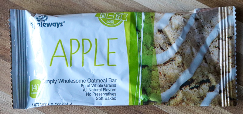 Love with Food Subscription Box - Appleways Apple Oatmeal Bar