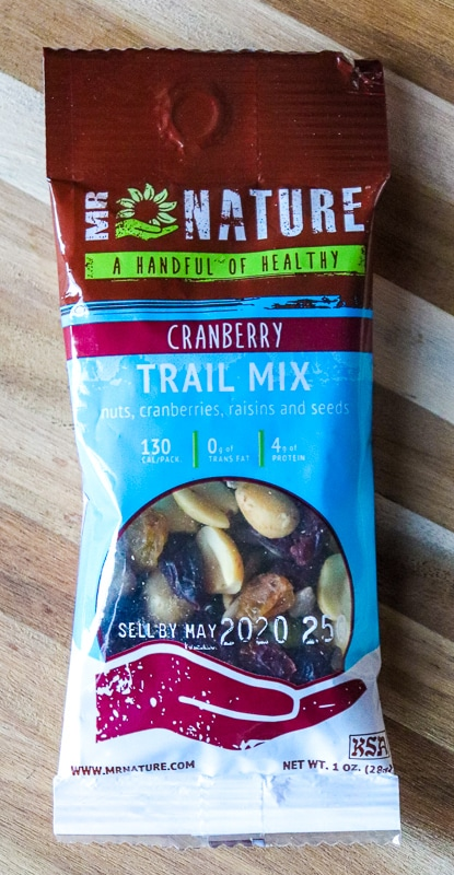 Love with Food Subscription Box -Cranberry Trail Mix
