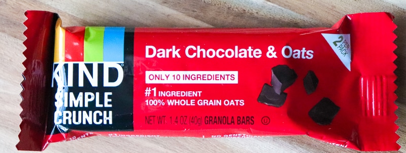 Love with Food Subscription Box -KIND Dark Chocolate & Oats Bar