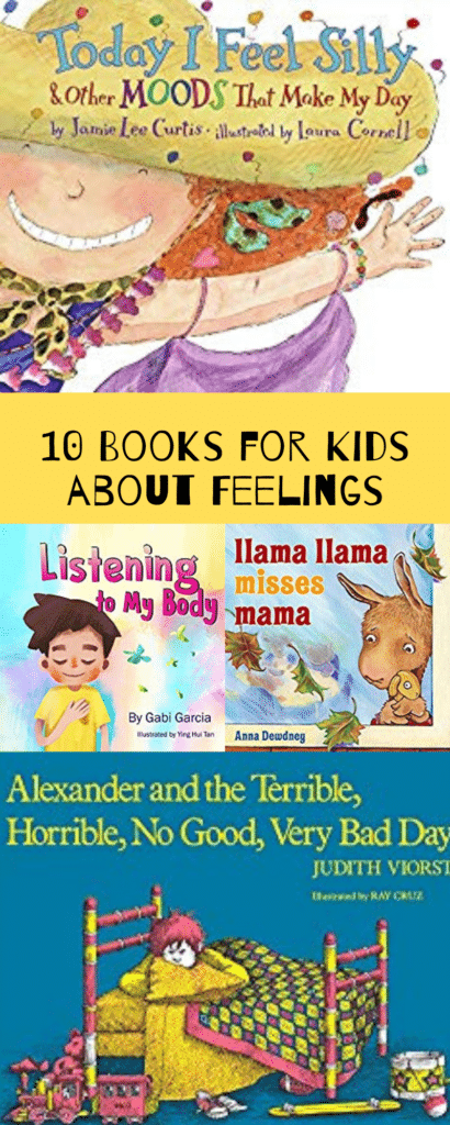10 Books for Kids About Feelings