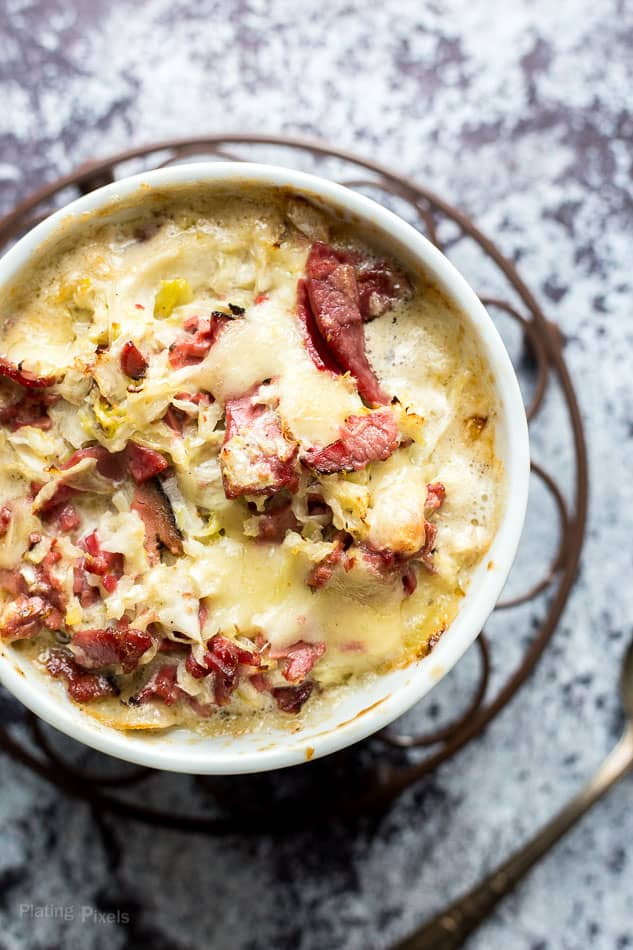 Hot Reuben Cheese Dip