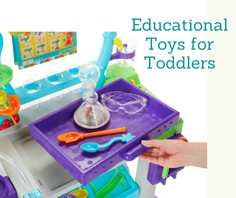 10 Educational Toys for Toddlers featuring STEM.