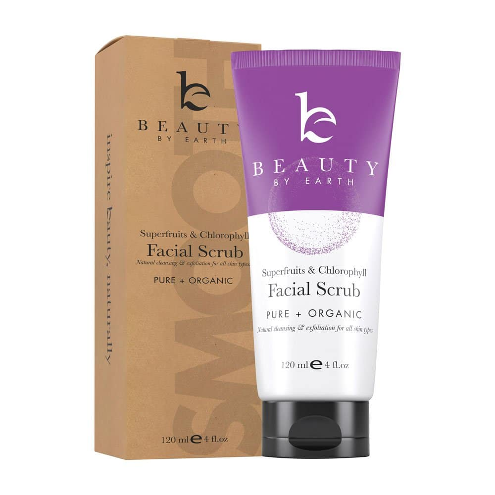 Beauty by Earth Organic Facial Scrub