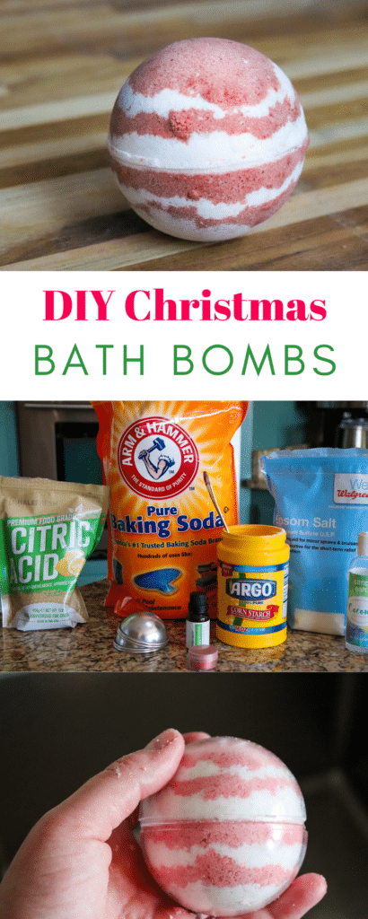 PInterest DIY Christmas Bath Bombs