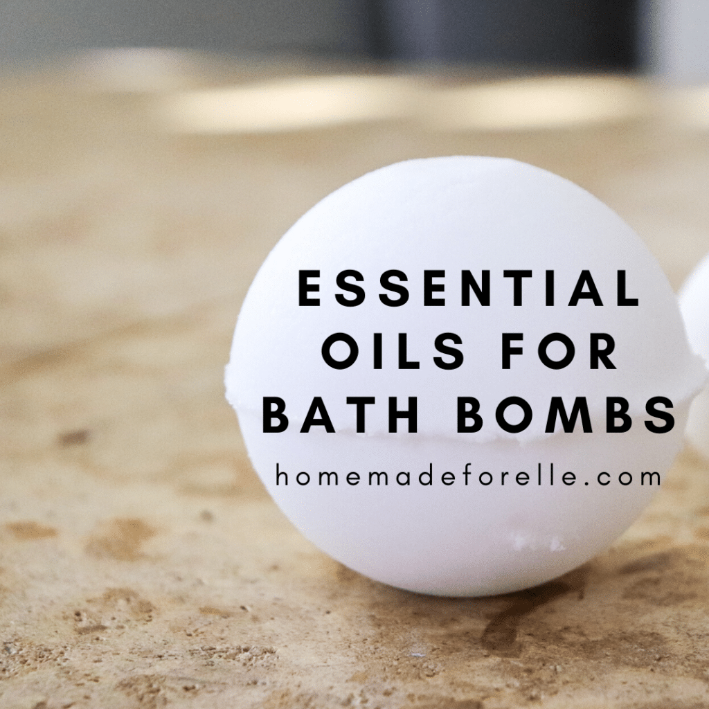 Essential Oils for Bath Bombs