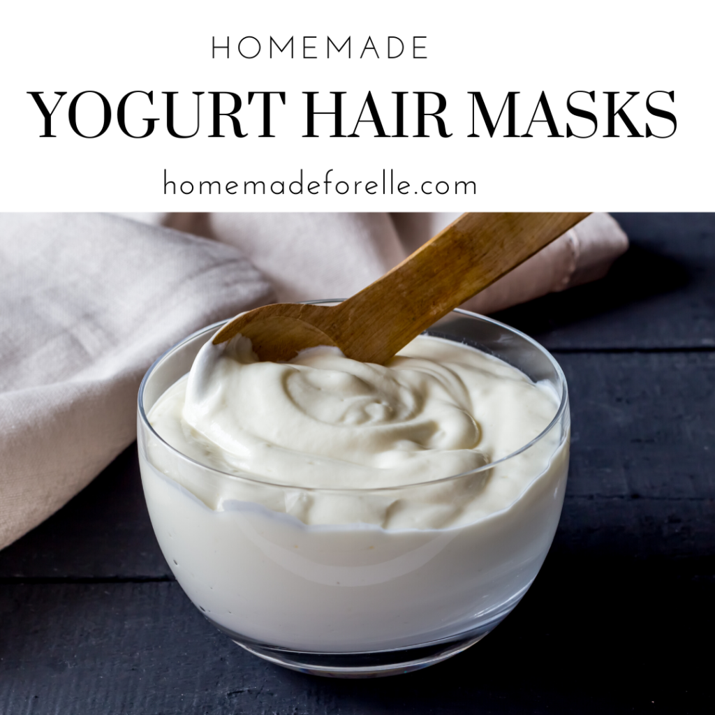 Homemade Yogurt Hair Masks