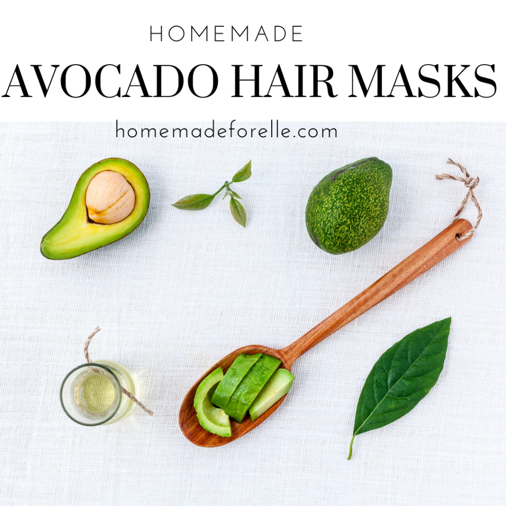 avocado hair masks