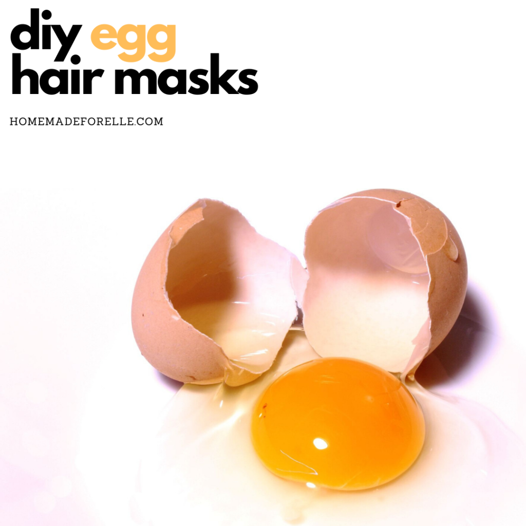 diy egg hair masks