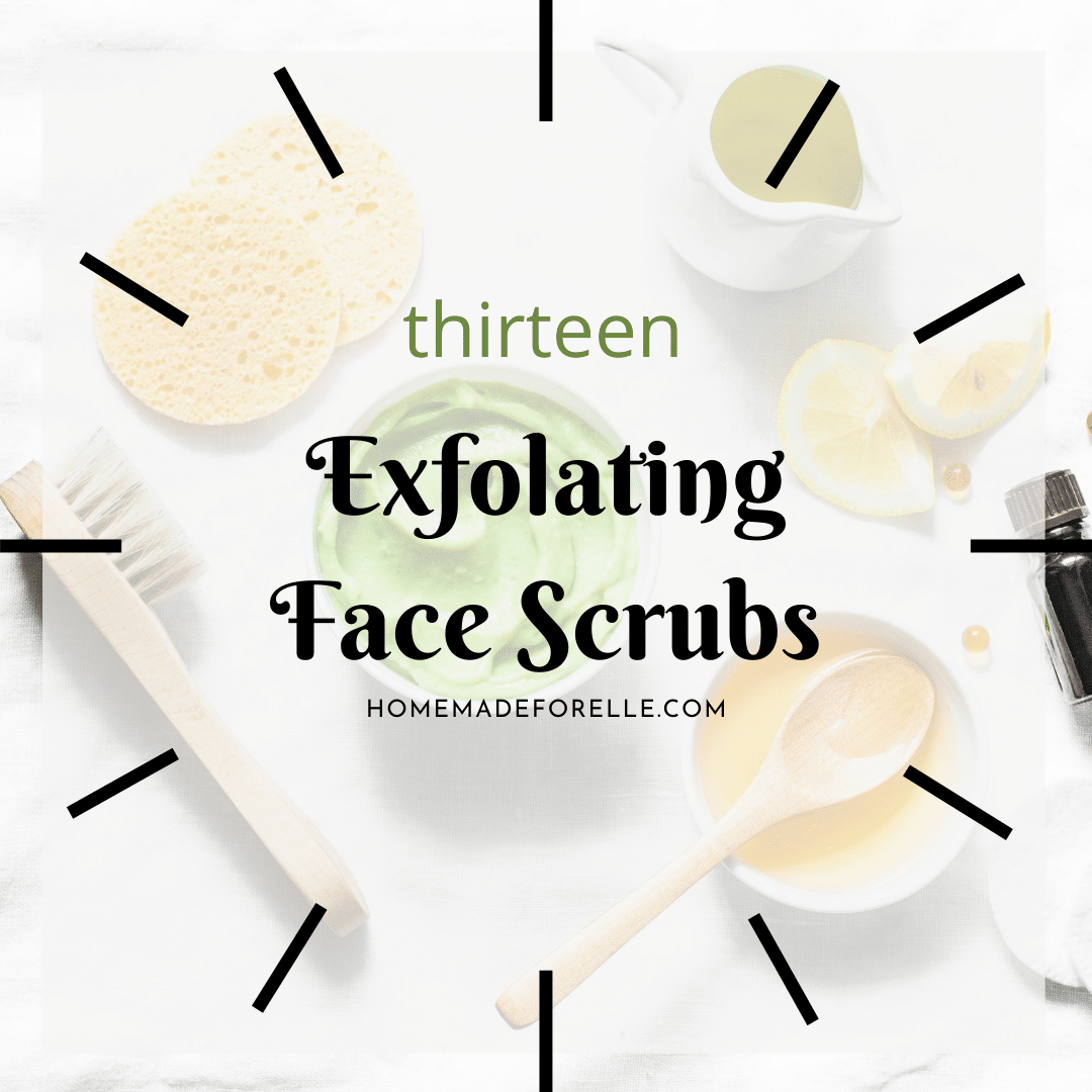 13 Simple Exfoliating Face Scrubs Homemade For Elle